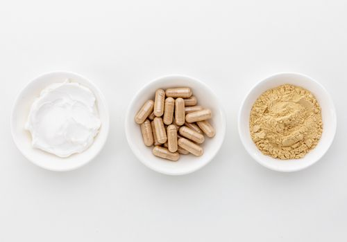 Wild yam ointment, capsules, and powder