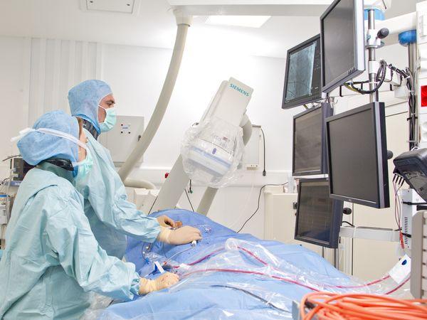 Radiofrequency cardiac ablation