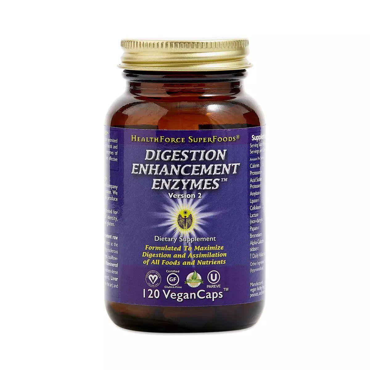HealthForce SuperFoods Digestion Enhancement Enzymes