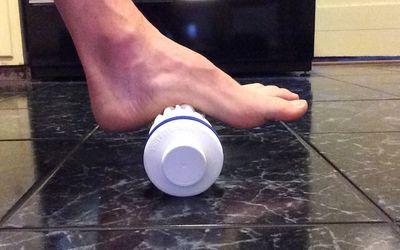 Plantar Fascia Stretch for Foot Pain