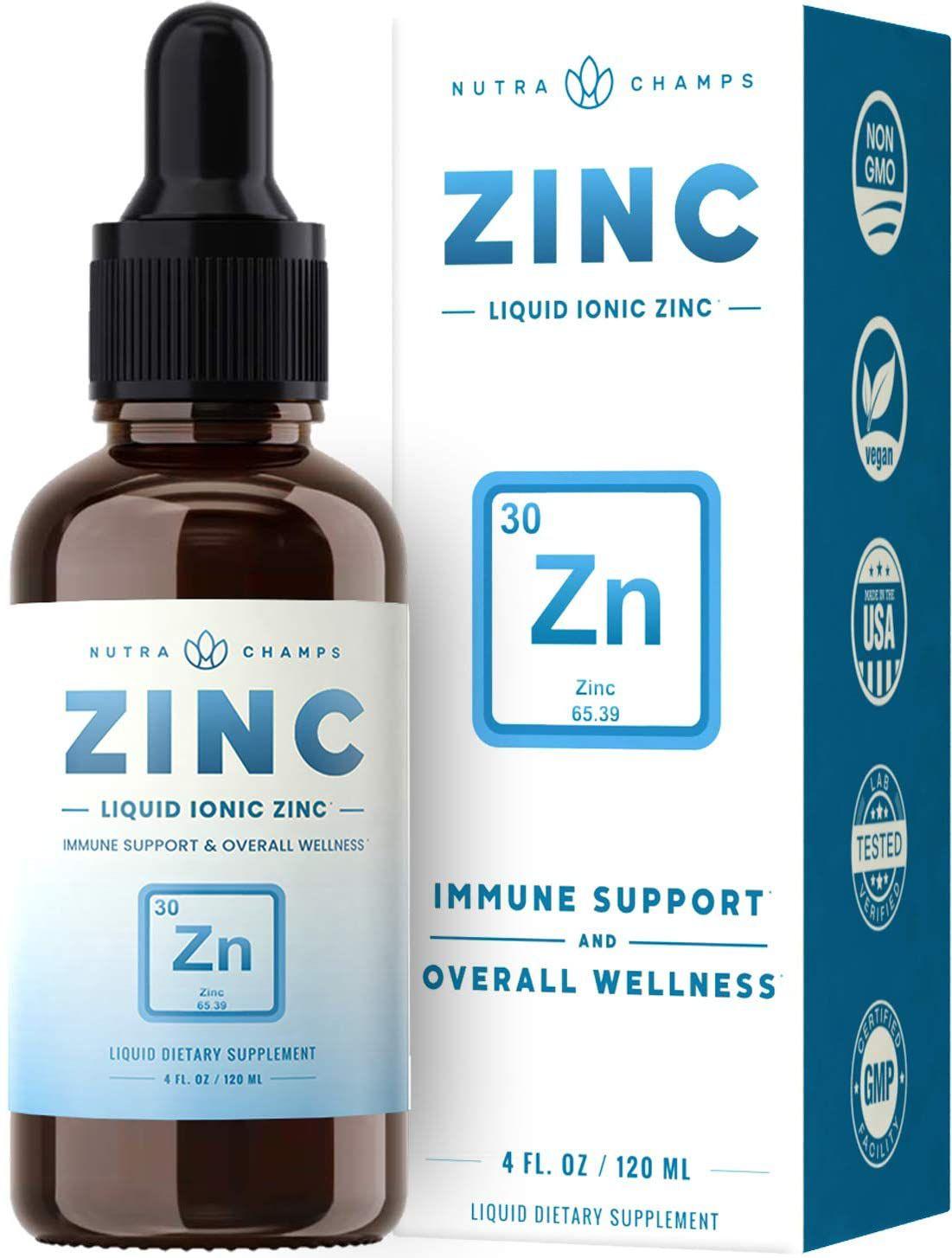 NutraChamps Liquid Ionic Zinc