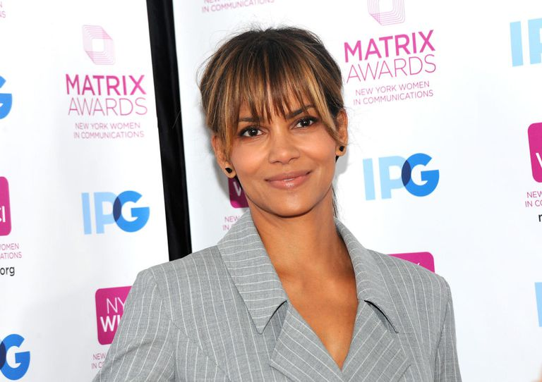 Actress Halle Berry attends 2018 Matrix Awards at Sheraton New York Times Square
