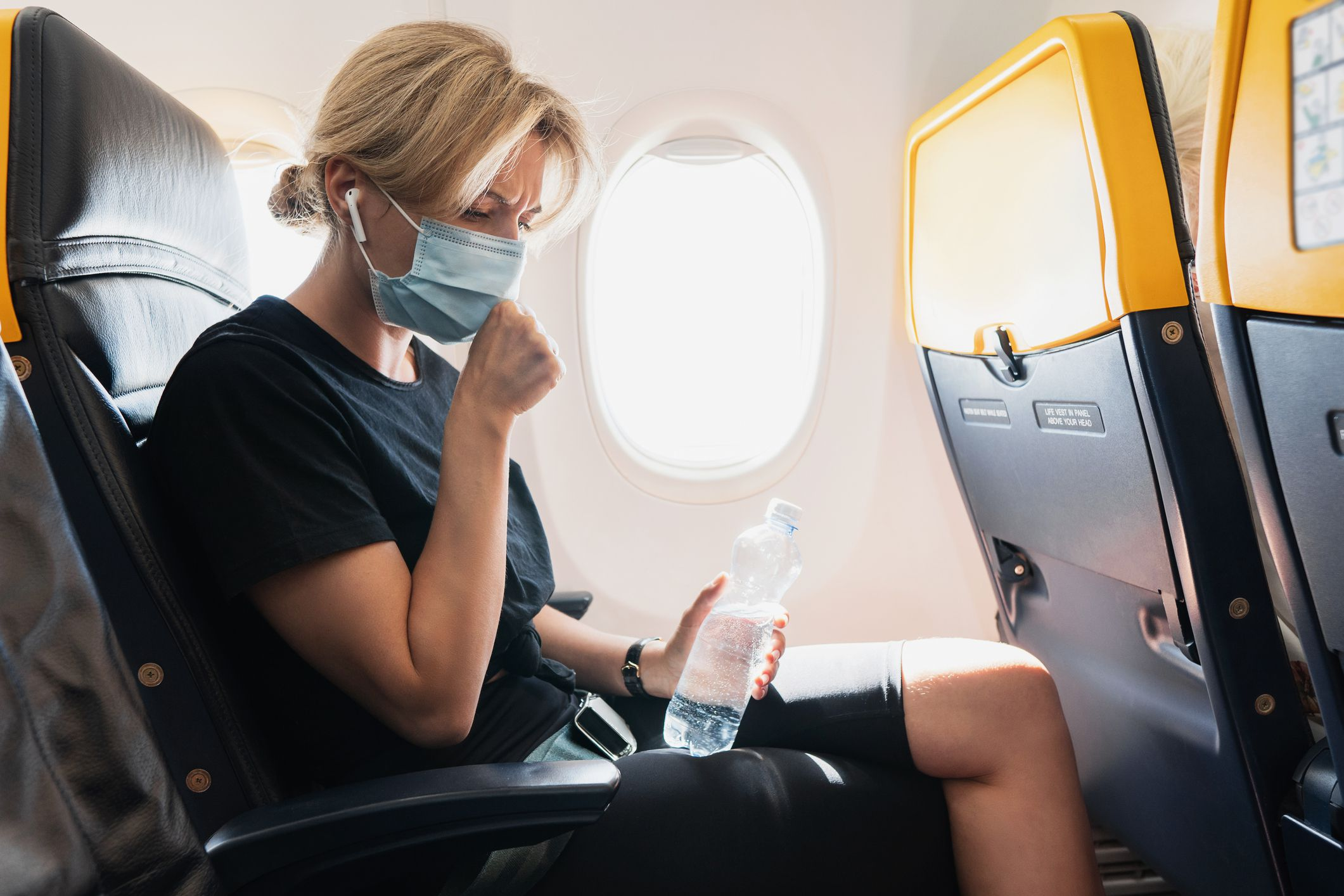 Pre-Flight Testing Is Not Preventing COVID-19 Spread on Airplanes