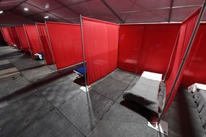 partitioned cots
