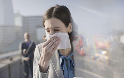 Non-allergic rhinitis.