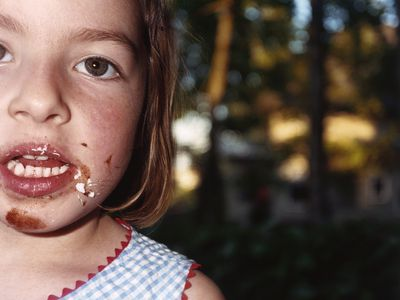 Child with pica eats dirt or nonfood items