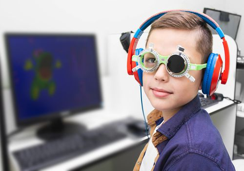 amblyopia vision therapy