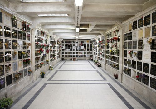 The Columbarium at the Père Lachaise Cemetery