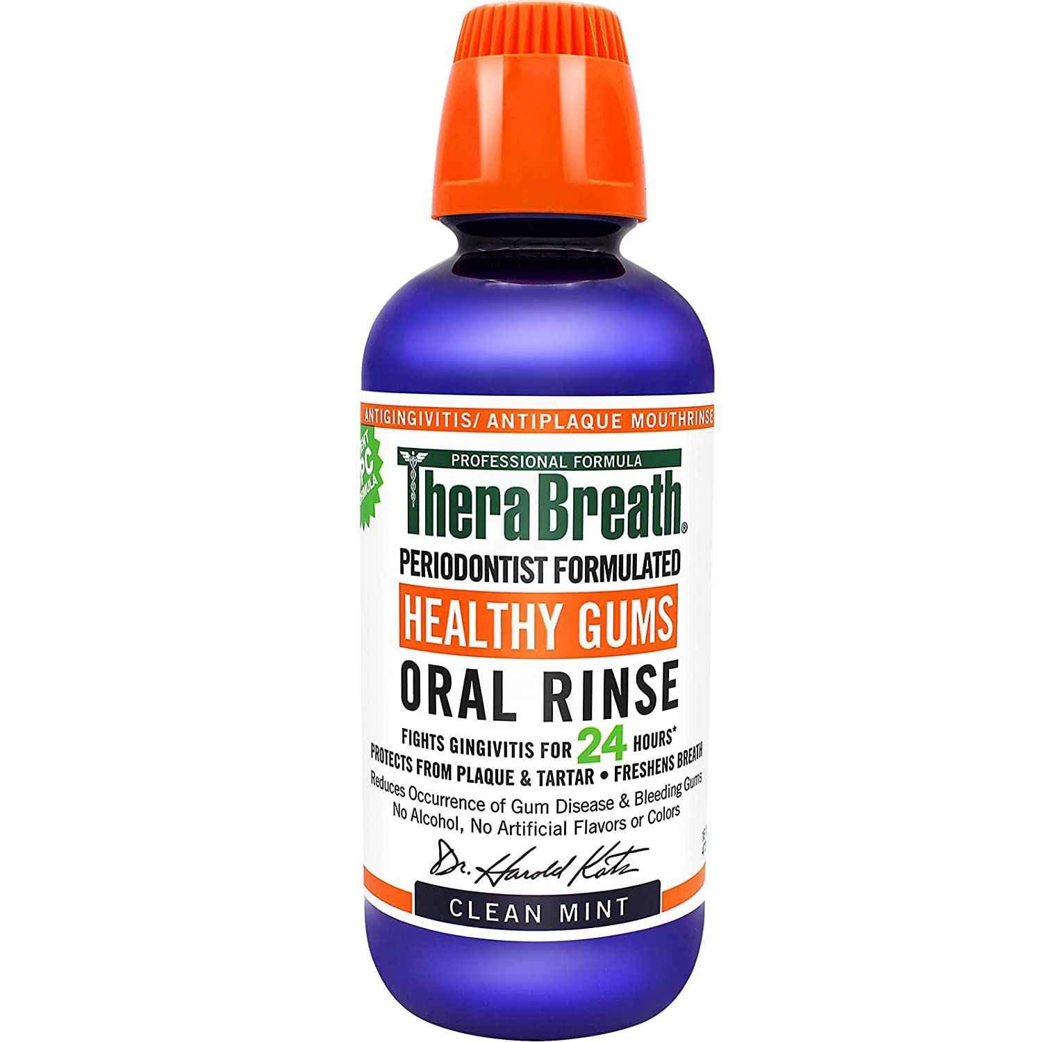 TheraBreath Healthy Gums Periodontist Formulated 24-Hour Oral Rinse