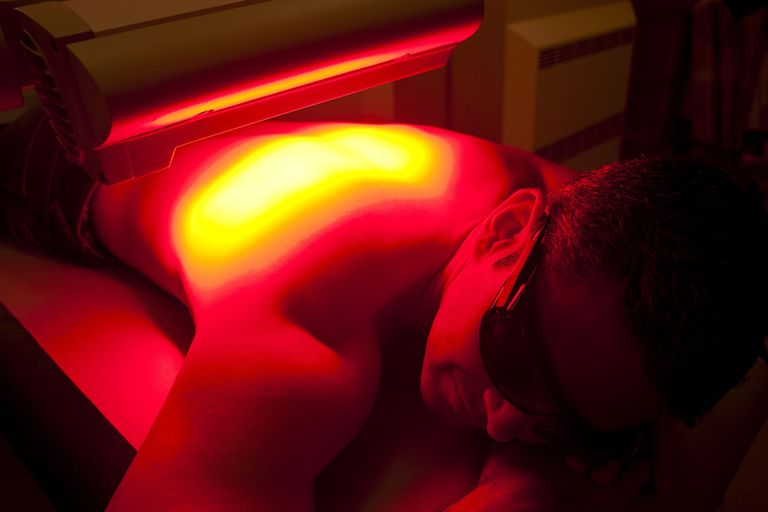 a patient undergoing photodynamic therapy (PDT)