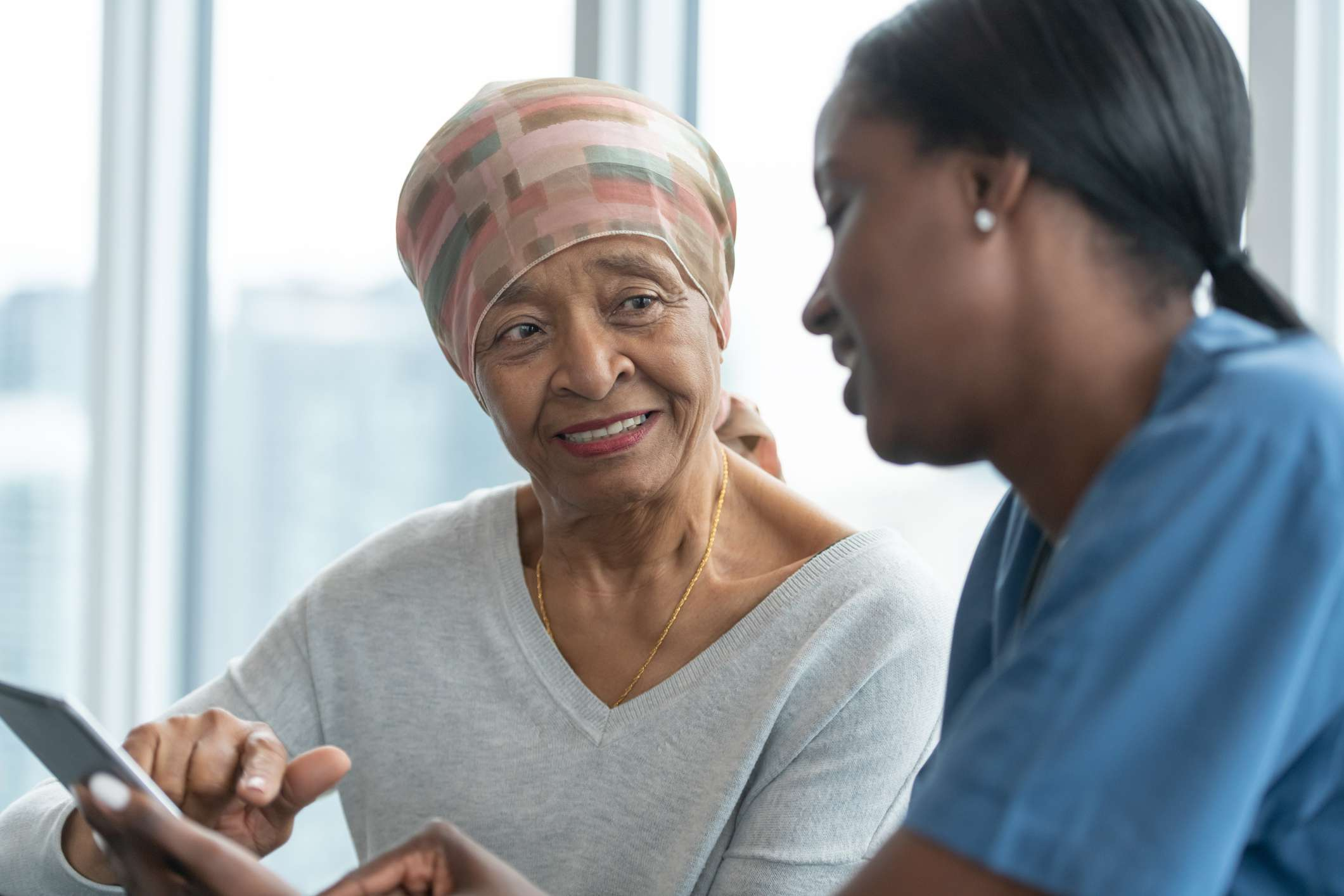 Woman and Doctor Discuss Reovery From Whipple Procedure