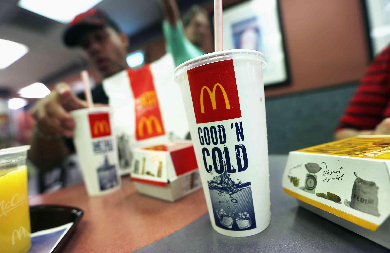 McDonald's restaurant food