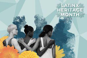 Latinx Heritage Month illustration.