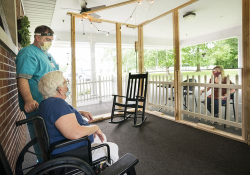 Nursing home visitation during COVID-19.
