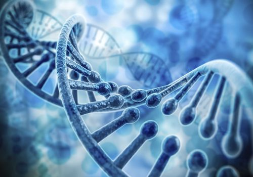 dna double helix illustrating genes where the risk of Lynch syndrome comes from