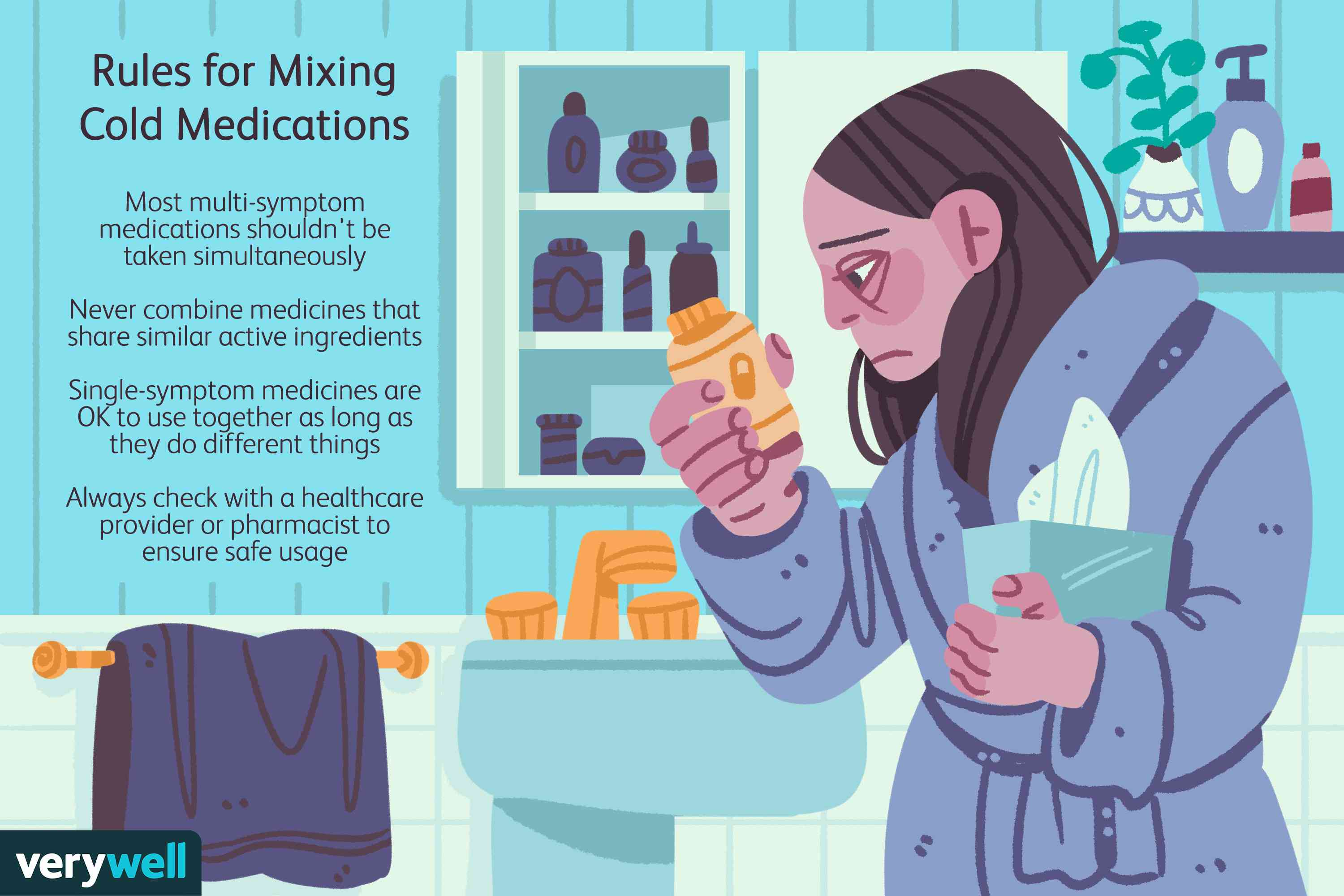 Rules for Mixing Cold Medications