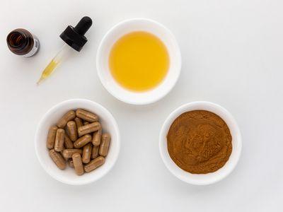 Mulungu capsules, powder, and tincture