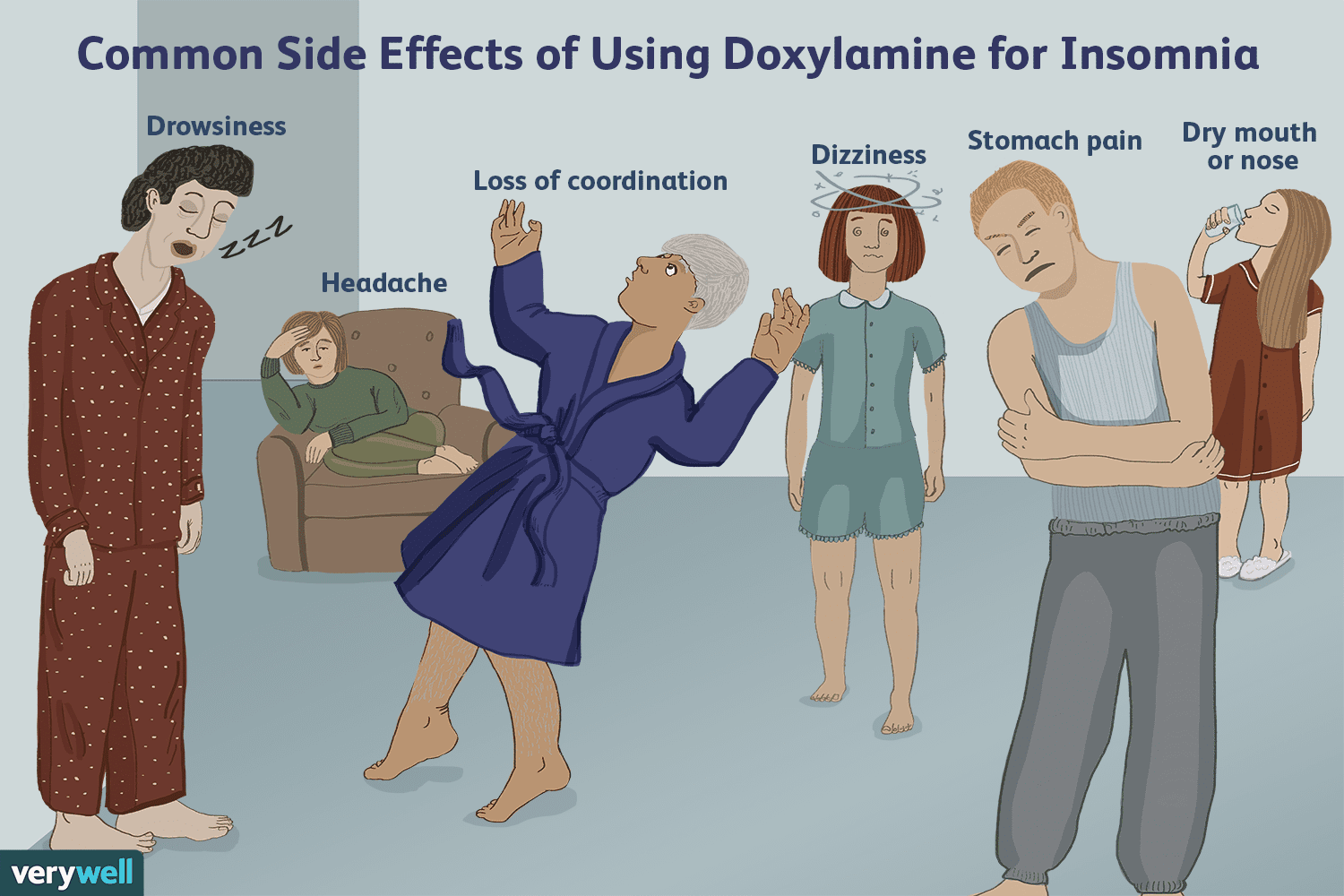 Doxylamine Not Recommended for Insomnia Treatment