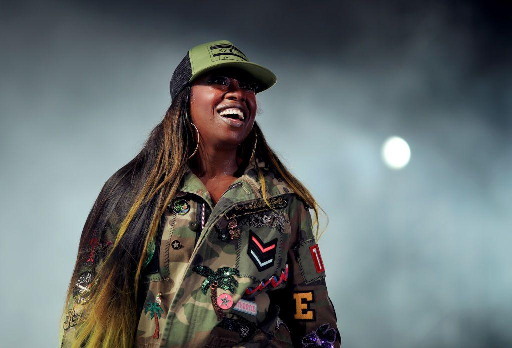 Missy Elliott performs onstage