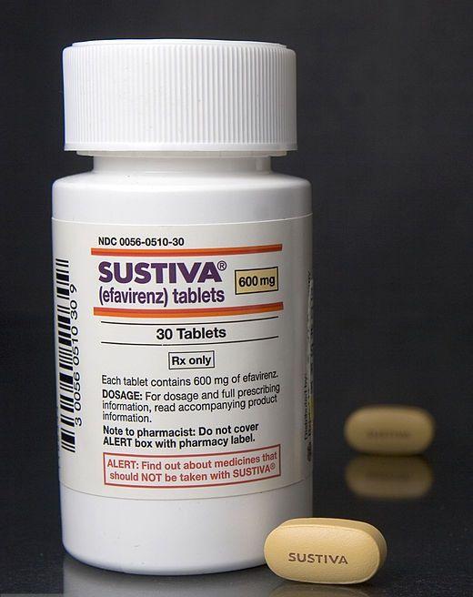 Sustiva bottle