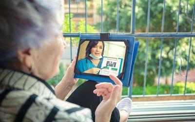 Telehealth visit for osteoporosis