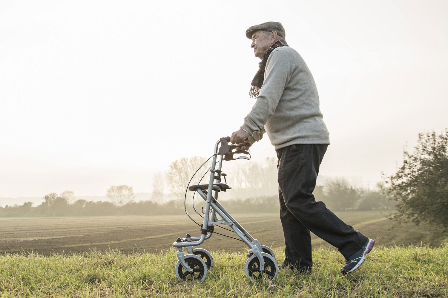 How a Rollator Differs From a Walker