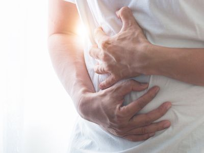 stomachache may be hiatal hernia symptom