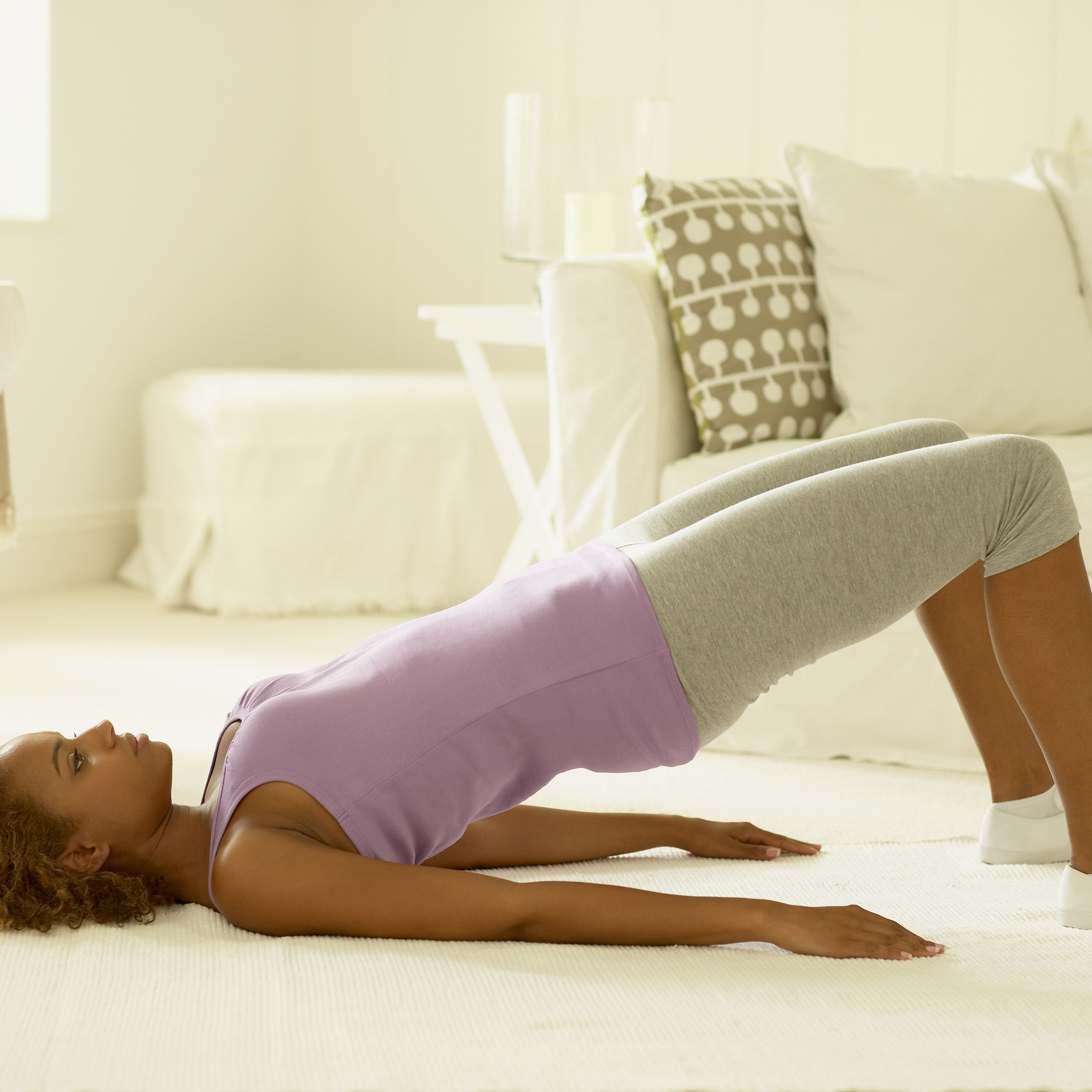 Morning Back Stretches — Start the Day