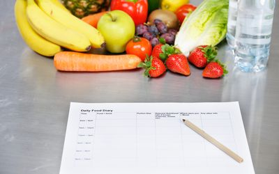 keep a food diary to identify food triggers
