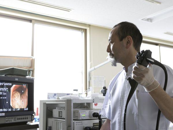 Endoscopic exam