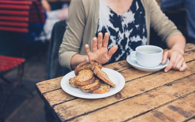 Gluten sensitive refusal of bread