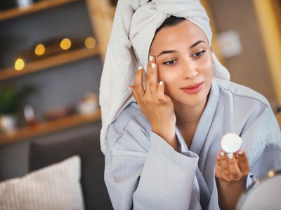Skin care routine.