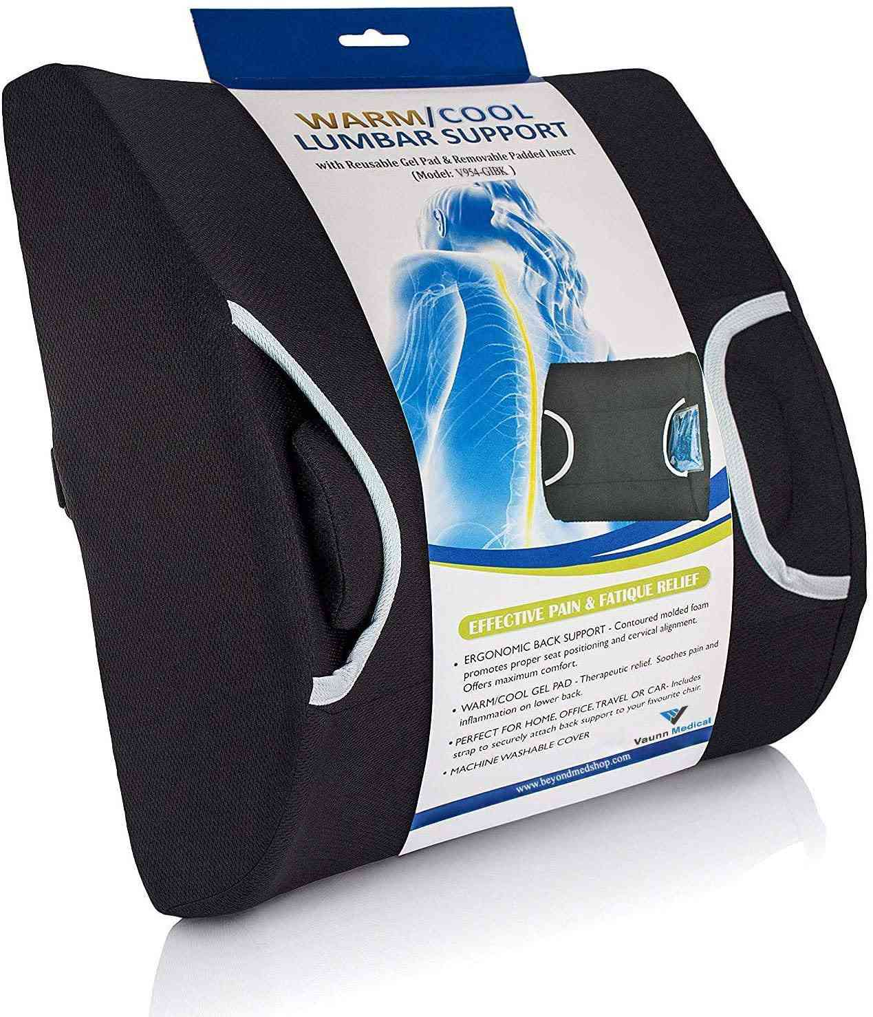 Vaunn Medical Lumbar Back Support Cushion