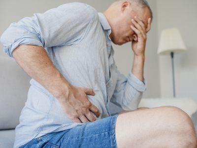 Terrible stomachache