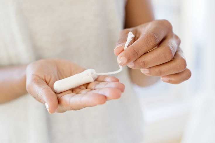 how to remove a stuck tampon
