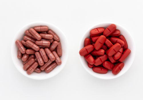 Red yeast rice capsules and tablets