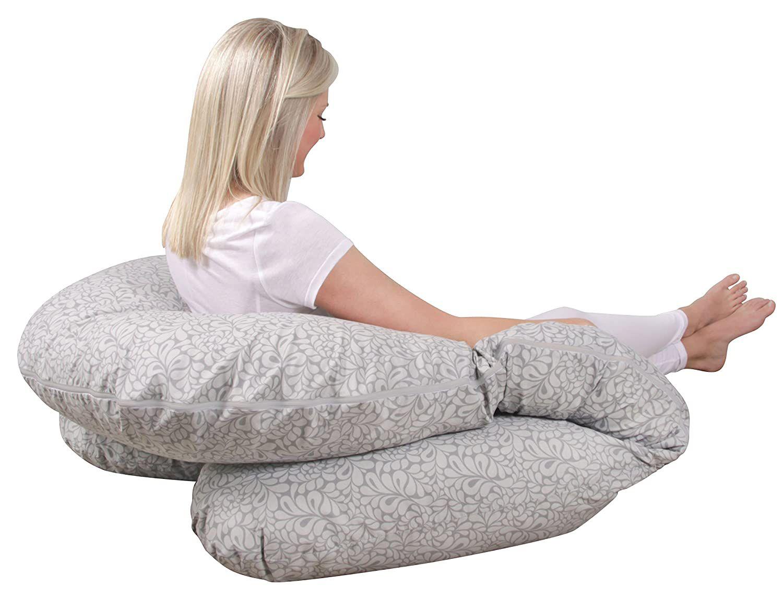 Leachco Back N' Belly Bunchie Pregnancy/Maternity Body Pillow