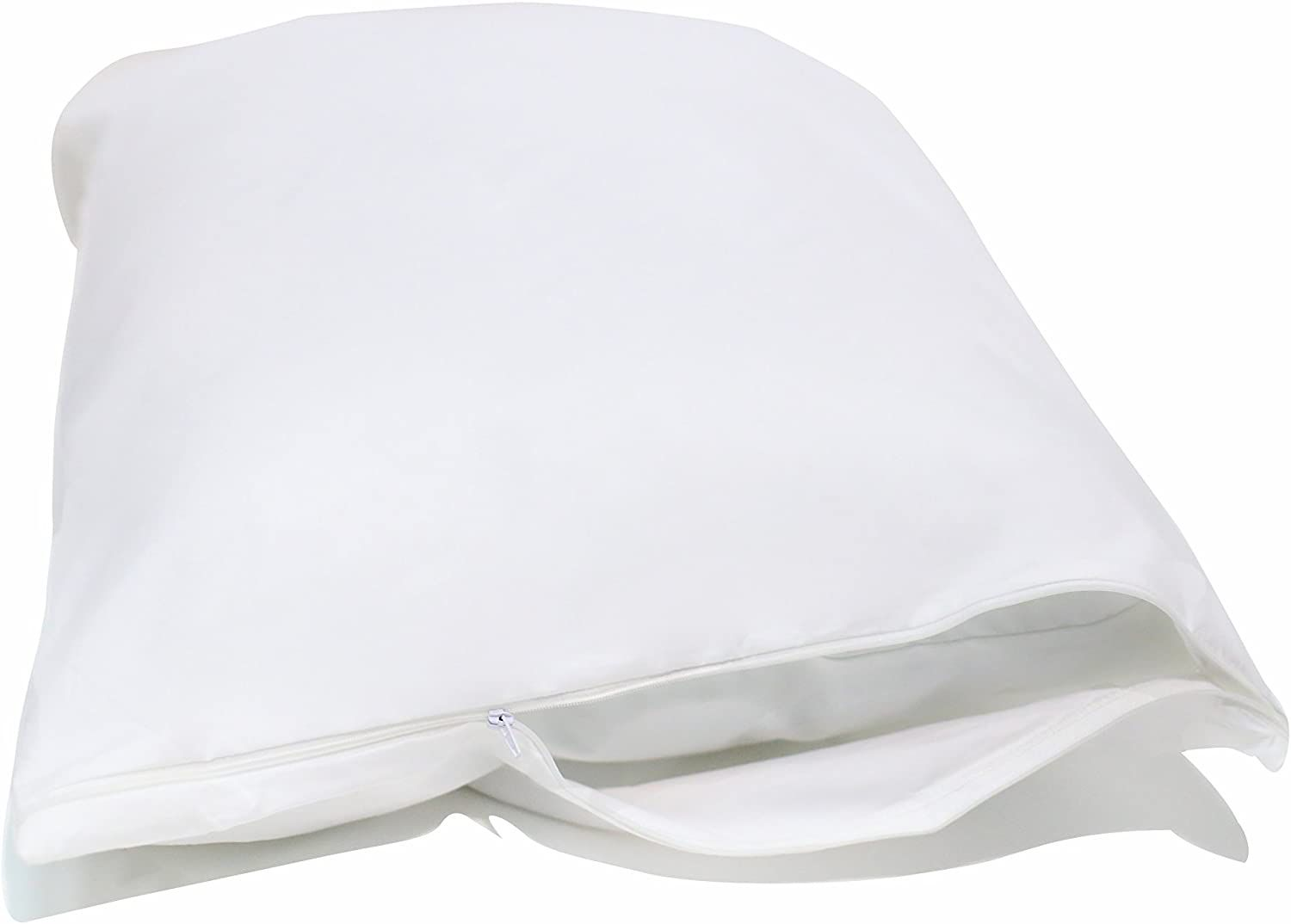 AllerSoft Cotton Dust Mite & Allergy Standard Pillow Protector