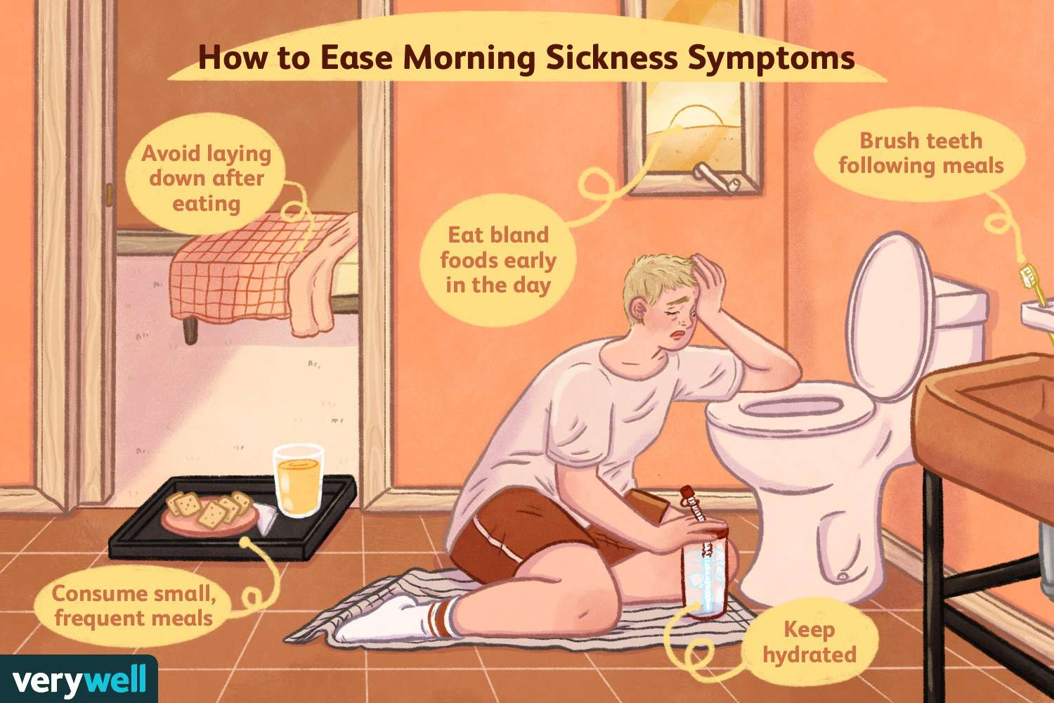 How to Ease Morning Sickness Symptoms