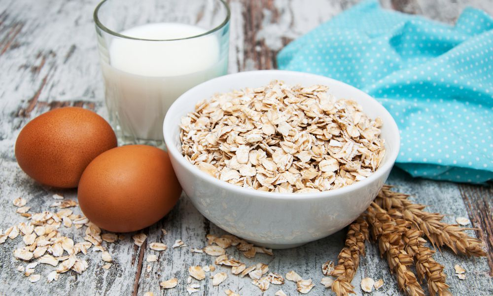 Eggs, milk, and wheat, foods that can trigger ezcema