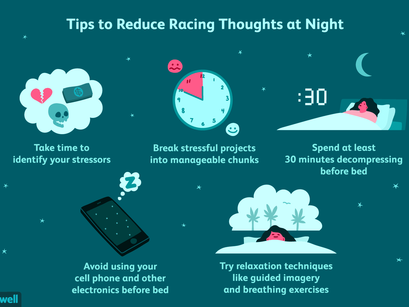 How To Reduce Racing Thoughts At Night Due To Insomnia