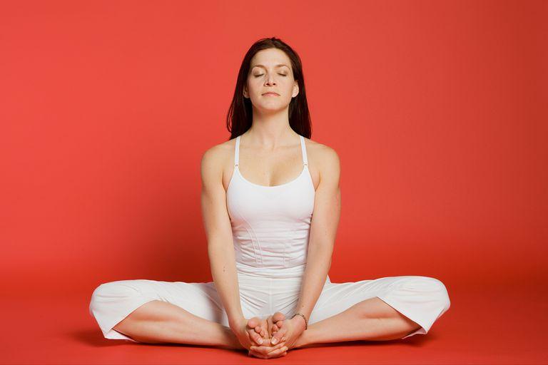 Baddha Konasana for Period Cramps