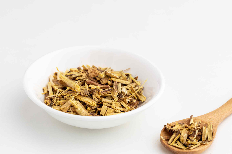 Dried licorice root