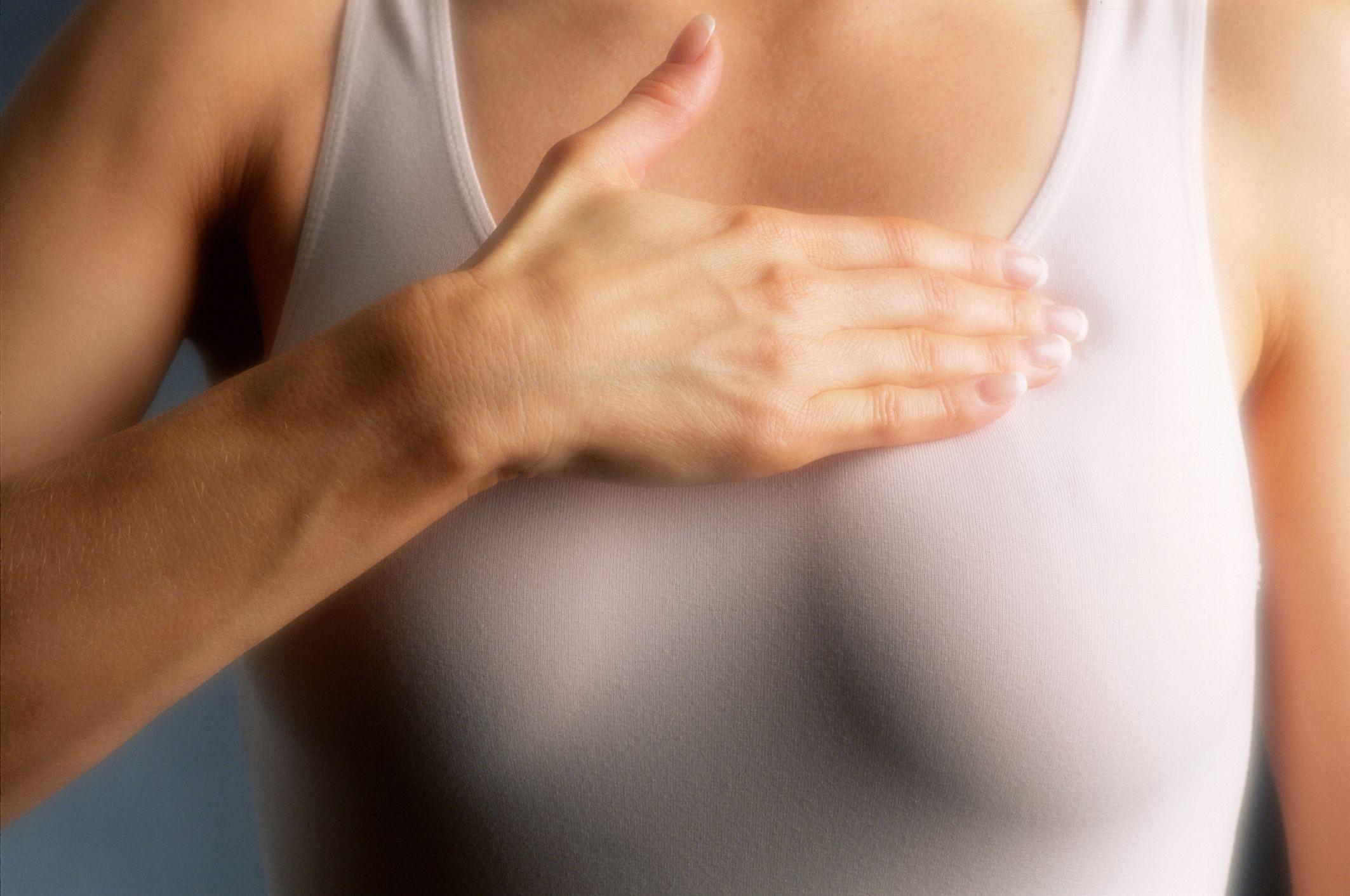 Rash under breast
