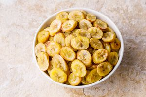 Bowl of plantains