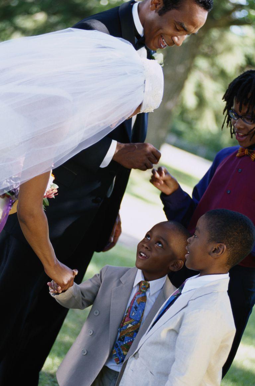 shake hands at wedding