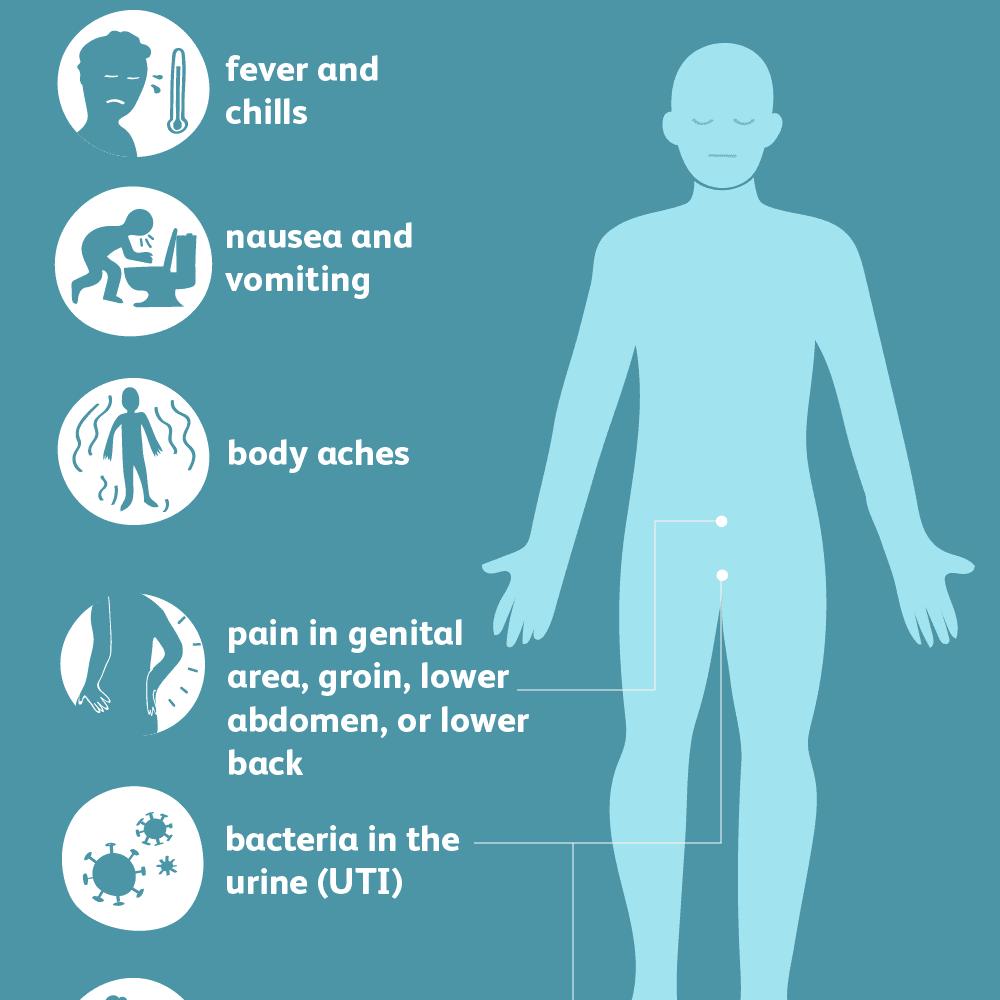 acute bacterial prostatitis symptoms)