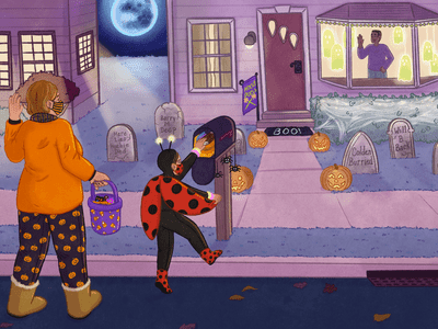 trick-or-treating during covid-19
