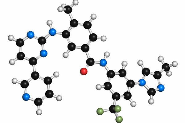 Tasigna (nilotinib) molecule