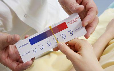 sliding image-based Pain scale
